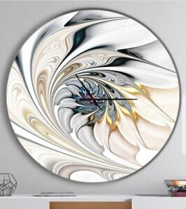 Floral Modern Art wall clock in Large Size
