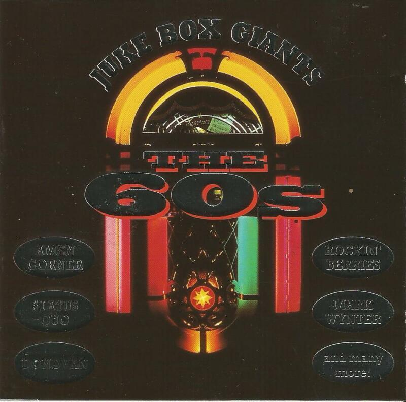 Juke Box Giants The 60's CD