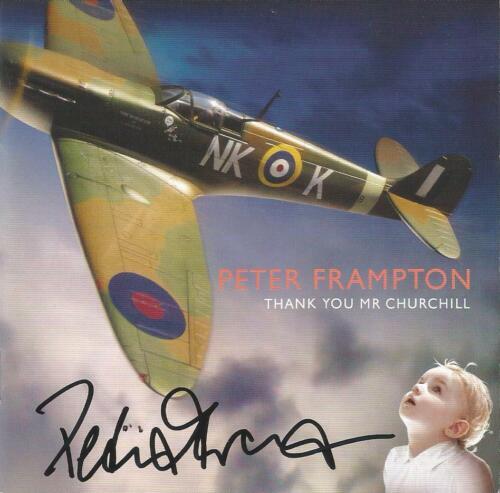 Peter Frampton Autographed Thank You Mr. Churchill CD