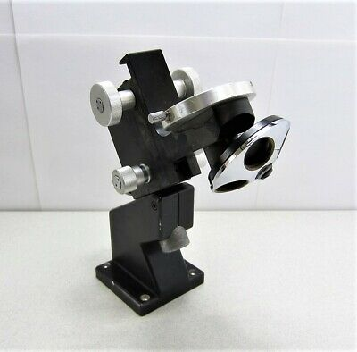 Nikon Microscope Bracket Nosepiece Assembly 3 Place