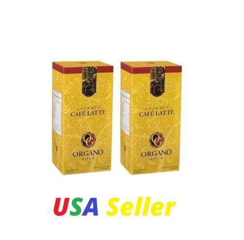 2 Boxes ORGANO GOLD Cafe Latte  - Expiration 4/2022  -  Expedite Shipping!