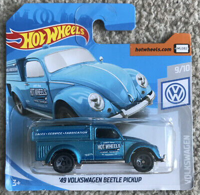 HOT WHEELS 2019 047/365 '49 VOLKSWAGEN BEETLE PICKUP NEW ON CARD