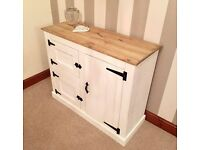 ***Rustic Country Shabby Chic Pine Sideboard***ONLY £99***