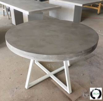 """""""The Athena"""" An elegant round Lightweight Concrete Dining table"""