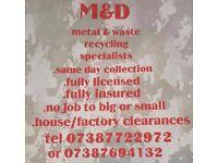 Unwanted metal / unwanted rubbish