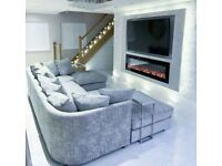 U SHAPE SOFA AVAILABLE IN STOCK **MONEY BACK** available in different colors