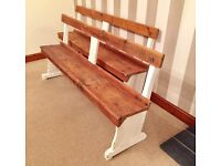 Newly Refurbished Shabby Chic Rustic Hand Made Wooden Benches***£149***FREE DELIVERY