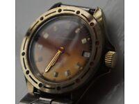 Wostok Komandirskie manual wind mechanical wristwatch - Cal 2409 - CCCP/Russia - Vintage
