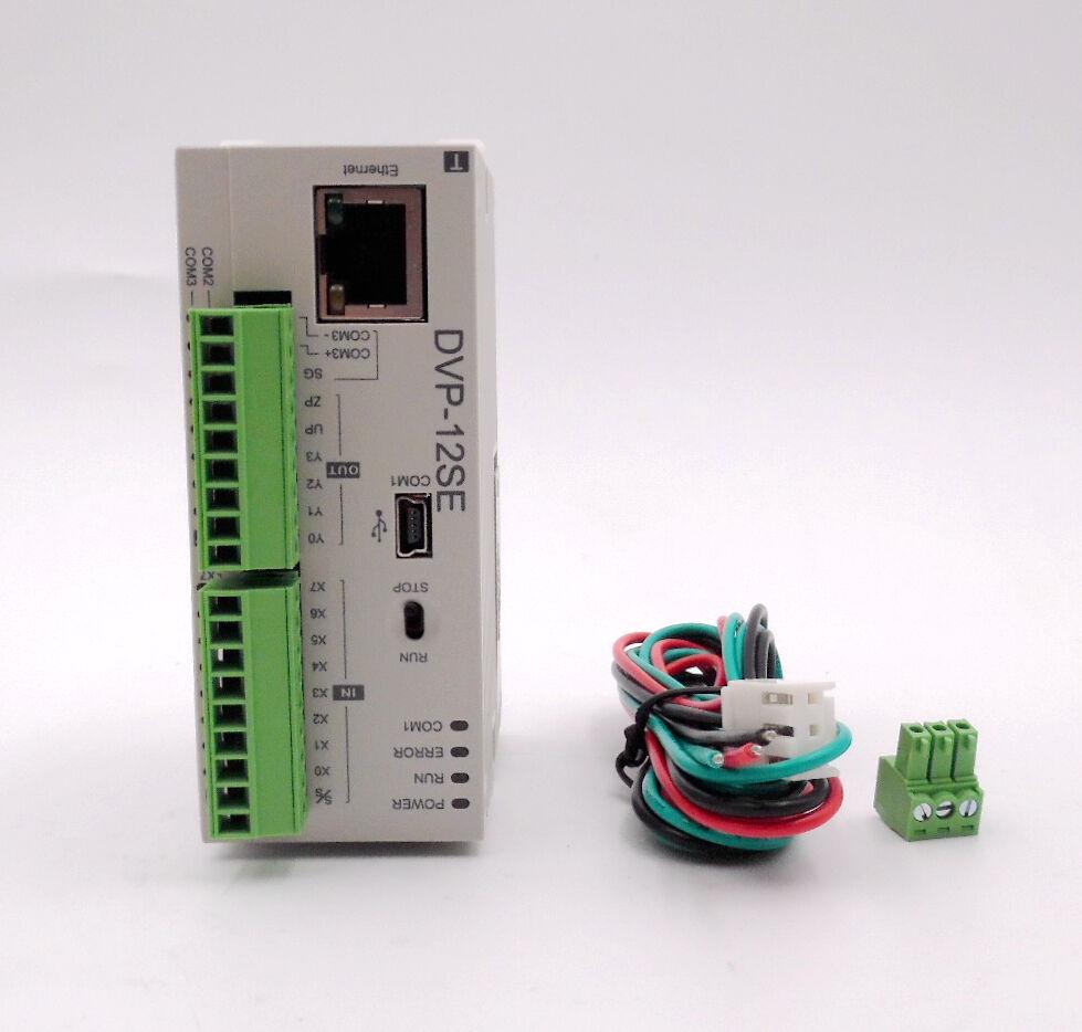 Delta PLC 8DI 4DO Transistor Network PLC 24VDC DVP12SE11T