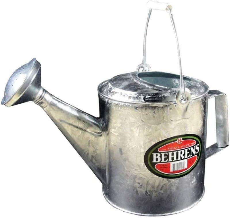Behrens 206RH 6QT Galvanized Standard Watering Sprinkling Can - Quantity 1