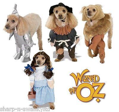 Wizard Of Oz Dorothy Dog Costume - Pet Dog Cat Wizard of Oz Dorothy