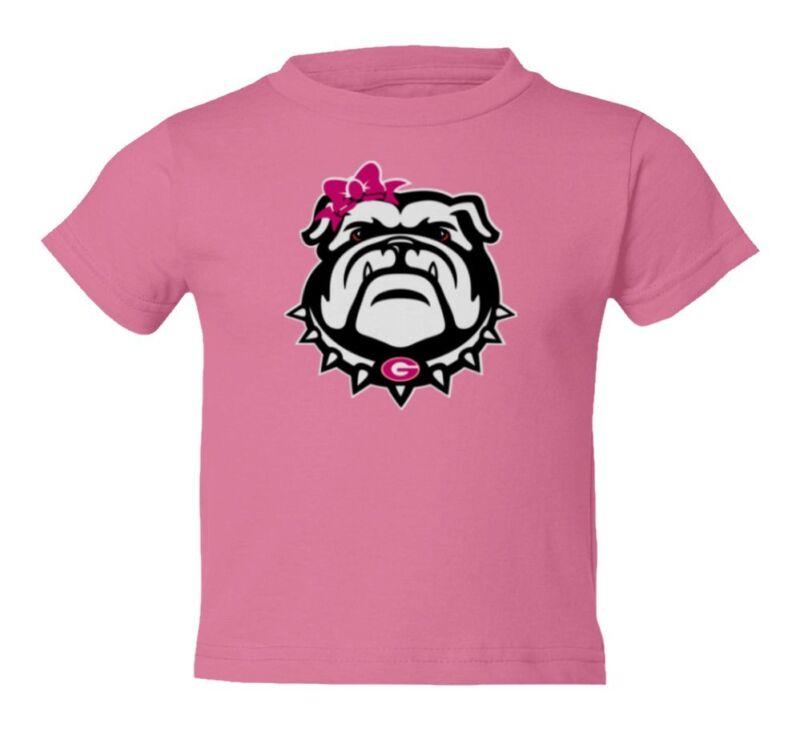 Georgia Bulldogs Girl Kids Toddler T-Shirt
