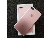 iPhone 7 PLUS rose GOLD for sell or swap