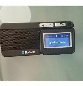 LCD Bluetooth visor car kit and speakerphone