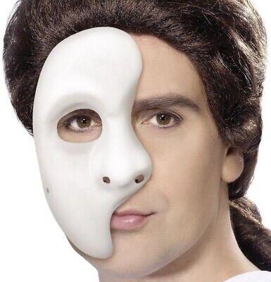 Kostüm Erwachsene Maske Phantom der Oper Halbmaske von Smiffys
