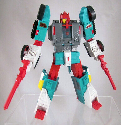 Transformers Titans Return QUICKSWITCH Complete Leader Chaos on Velocitron