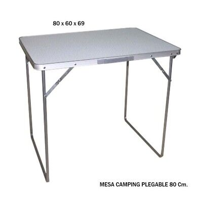MESA CAMPING PLEGABLE 80CM (17009)