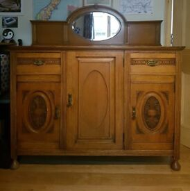 Sideboard - with carved detailing