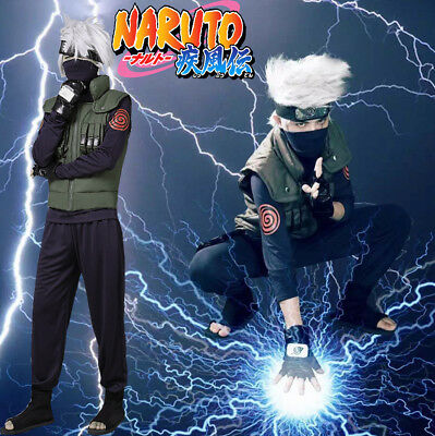 Used, Hot Cakes Naruto Cosplay Costume Kakashi Hatake Cosplay Costume Full Suit  for sale  China