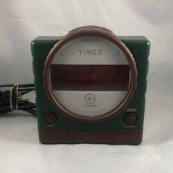 Timex Expedition Nature Sounds Digital Alarm Clock T155Q Dual Alarms
