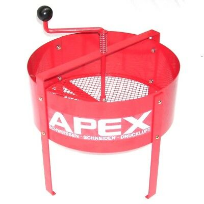 Hand sieve S15L ROTARY SOIL SIEVE 55357COMPOST SIEVE MESH RIDDLE