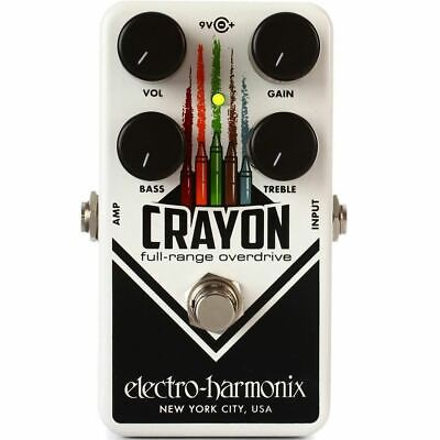 Electro Harmonix Crayon 69 Overdrive Guitar / Effects Pedal