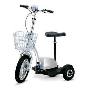 3 Wheel Electric Scooter - FS1000 - Electric Mobility Scooter Zappy Three RV