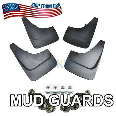 4 Mud Flaps Splash Guards for Pickup Pick-up SUV Front Rear Mudguards Fender