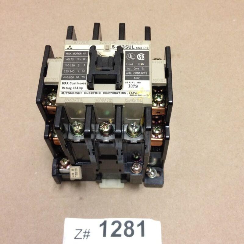 Mitsubishi Electric S-K35UL MS0-K35KPUL Contactor, 110-120V, 35Amps