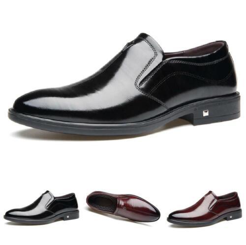 Details about Mens Shoes Causal Formal Leather Shoes Designer Business Slip On Oxfords show original title