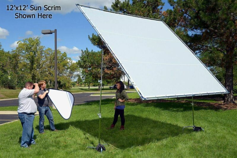 Fotodiox Pro Studio Solutions Giant Sun Scrim - Collapsible Frame Diffusion Kit