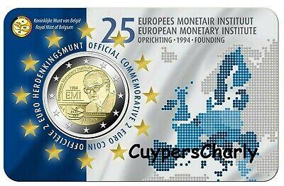 Belgie 2019 II 2€ BU 25j Europees Monetair Instituut **Nederlandse Versie**