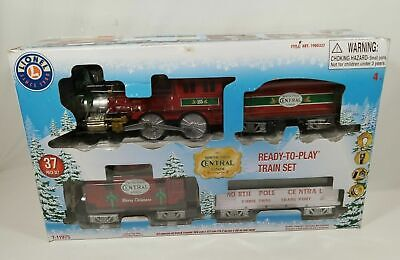 Lionel North Pole Central Christmas Battery-Powered Model Train Set