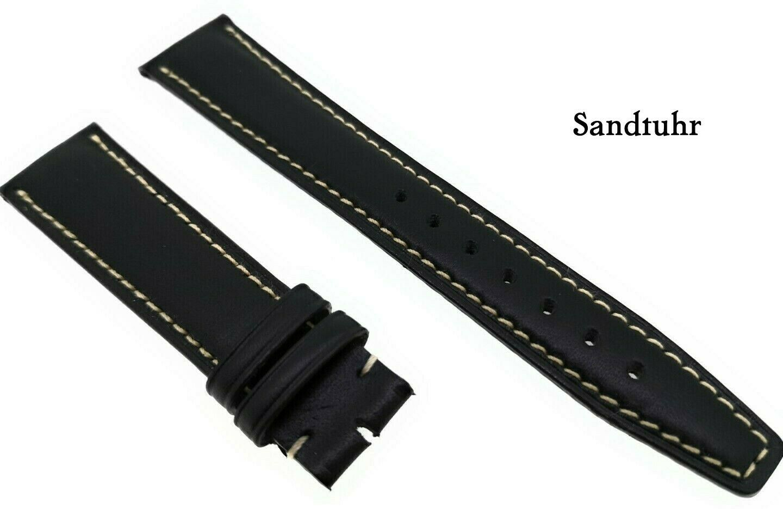IWC Original  Uhrenarmband schwarz 19mm,  für Mark Flieger Uhren