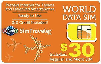 SIM- карты World Data Sim $10