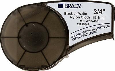 Brady M21-750-499 Label Cartridge Blackwhite 34 In. Width- 16 Ft.length
