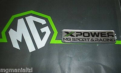 MGZR MG ZR XPower MG Sport & Racing Badge