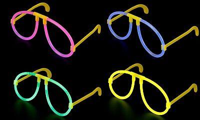 Pink Glow Stick (GLOW STICK GLASSES MIX NEON YELLOW PINK BLUE GLOW HEN PARTY FESTIVAL FANCY DRESS)