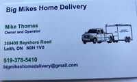 Big Mike's Home Delivery, a moving crew for you!