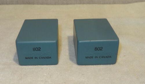 Hammond 802 Isolating, Matching audio transformers PAIR NEW