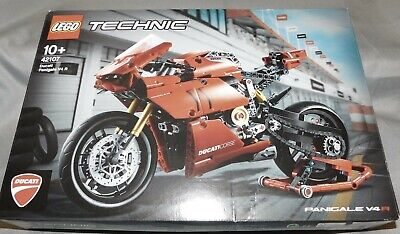 Lego Technic Set 42107 Ducati Panigale V4 R New in Factory Sealed Box
