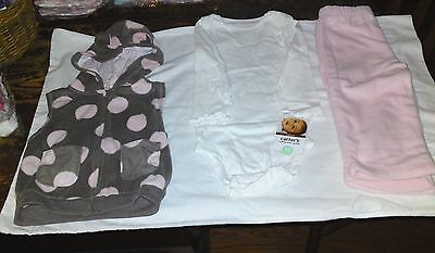 #2  Carters-Girls-Baby's Cuddly Cute Combo   - 18 months NWT