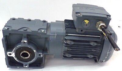 Sew-eurodrive Gear Motor Wa 30 Drs71m4th Hz 60 Rpm 1690103 Kw 0.55s1