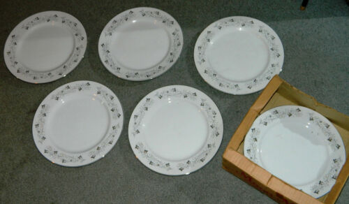 Vintage Moon Mist Fine China Of Japan SET OF 6 DINNER PLATES 10 & 1/4 inches