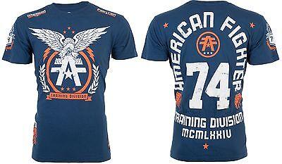 American Fighter Affliction Mens T Shirt Take Flight Eagle Tattoo Biker Ufc  40