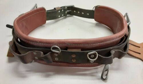 Vintage Buckingham Pole Climbing Lineman Safety Belt