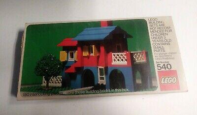 Vintage 540 Legos in Box