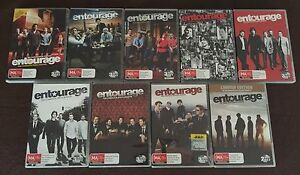 Entourage DVD Complete series seasons 1-8 region 4 South Morang Whittlesea Area Preview
