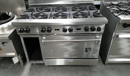 Commercial 8 Burner Stove & Oven. Coldstream Yarra Ranges Preview