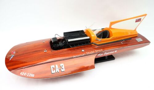 """Miss Supertest III Classic Model 30"""" - HandCrafted Wooden Model NEW"""